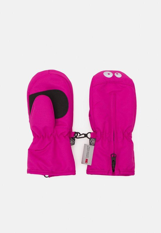 MITTENS ZIPPER UNISEX - Moufles - rose violet