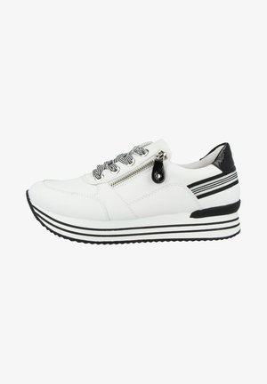Sneakers laag - white-black
