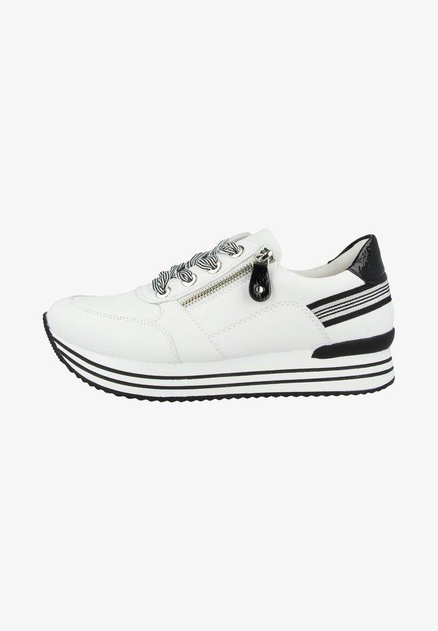 Sneakers - white-black