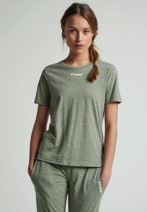 T-shirt basique - vetiver melange