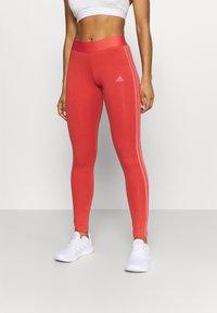 adidas Performance - Leggings - crew red/hazy rose - 0