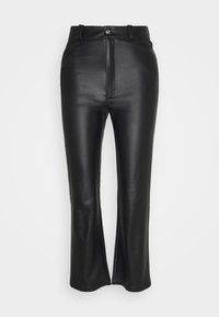 KENDALL + KYLIE - STRAIGHT PANTS - Trousers - black - 5