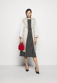 Lauren Ralph Lauren - PRINTED MATTE DRESS - Jersey dress - black - 1