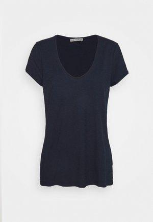 AVIVI - T-shirts - dark blue / light blue