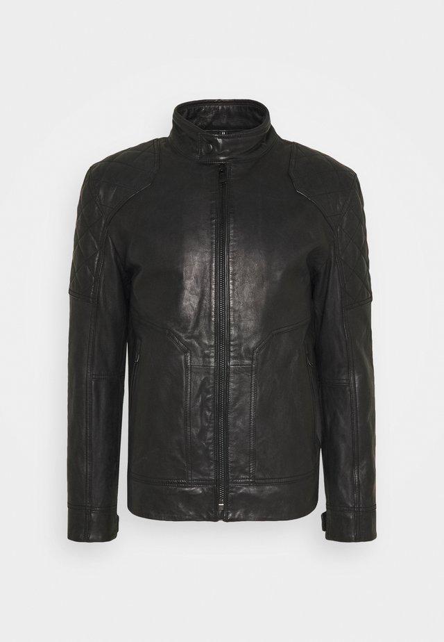 LIMOS - Leren jas - black