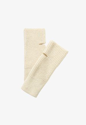 HANDGELENKWÄRMER  - Handschoenen - chalky sand