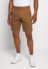 Burton Menswear London - 2 PACK - Shorts - navy/toffee - 1