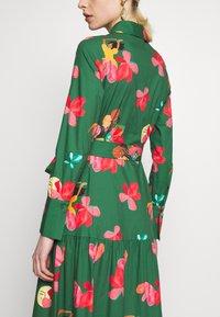 IVY & OAK - VALANCE DRESS MIDI - Day dress -  secret garden green - 3