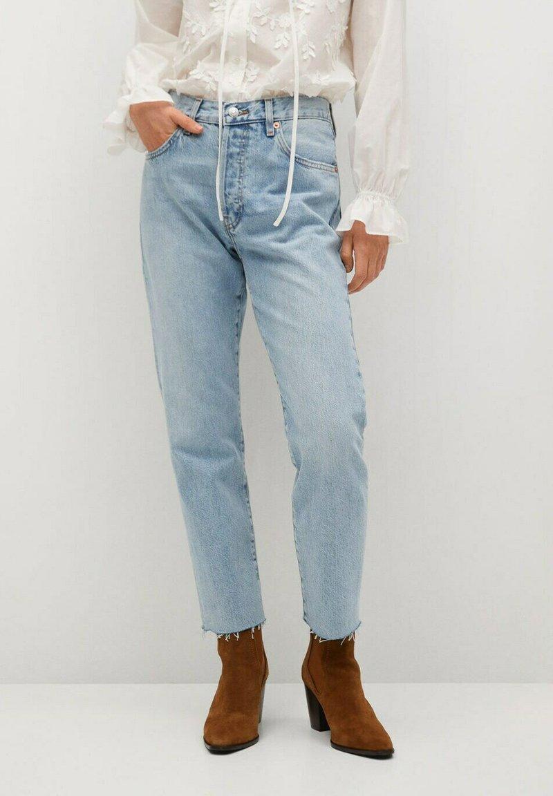 Mango - HAVANA - Straight leg jeans - lichtblauw