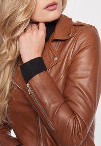 BTFCPH - EMMA - Leather jacket - cognac - 5