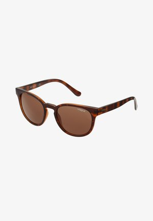 Sunglasses - top dark havana/light brown