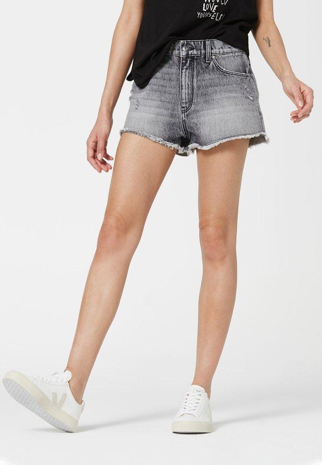 Denim shorts - anthra