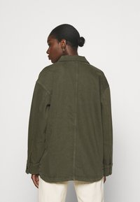 Lindex - JACKET - Summer jacket - dark dusty green - 2