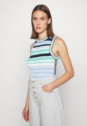 Jumper - multi/stripes