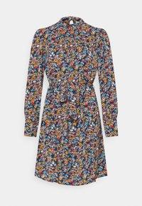 Vila - VISIMBA TIE BELT DRESS - Day dress - navy blazer - 0