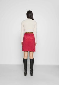 Glamorous - SKIRT - Mini skirt - burnt orange - 2