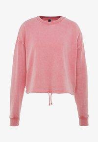 Cotton On Body - TIE HEM CREW  - Sweatshirt - cameo pink wash - 3