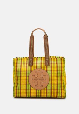 ELLA MARKET TOTE - Tote bag - green/yellow
