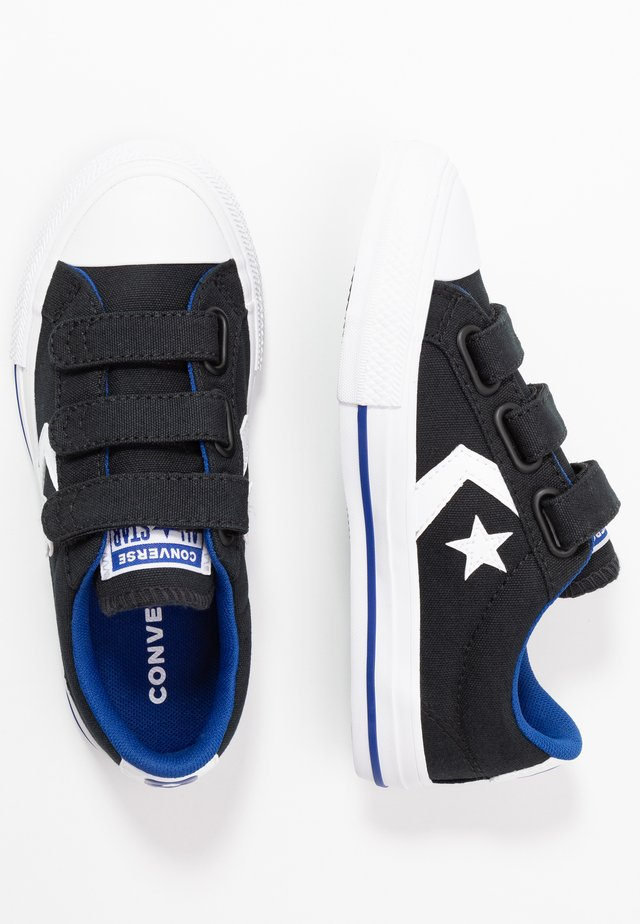 STAR PLAYER - Trainers - black/rush blue/white