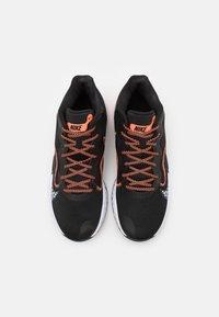 Nike Performance - RENEW ELEVATE - Basketball shoes - black/bright mango/thunder blue - 3