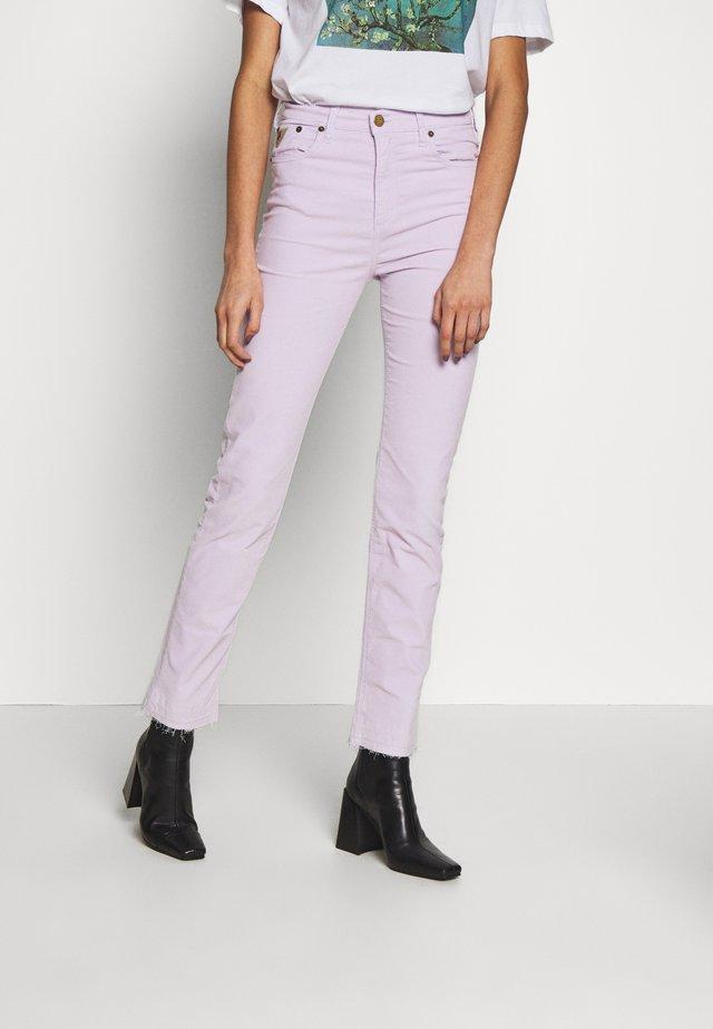 REBECA EDGE - Spodnie materiałowe - wisteria