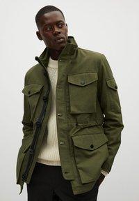 Mango - CADET - Outdoor jacket - khaki - 0