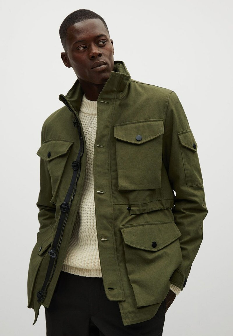 Mango - CADET - Outdoor jacket - khaki