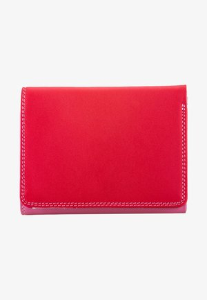 MEDIUM TRI FOLD - Portefeuille - red
