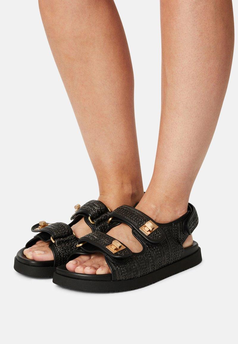 Dune London - LOCKSTOCKK - Sandals - black