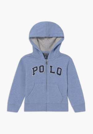 Zip-up hoodie - cobalt heather