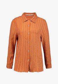 Neuw - RUSTY - Button-down blouse - cognac - 3