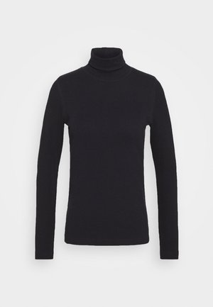 MAGGIE ROLL NECK - Long sleeved top - navy