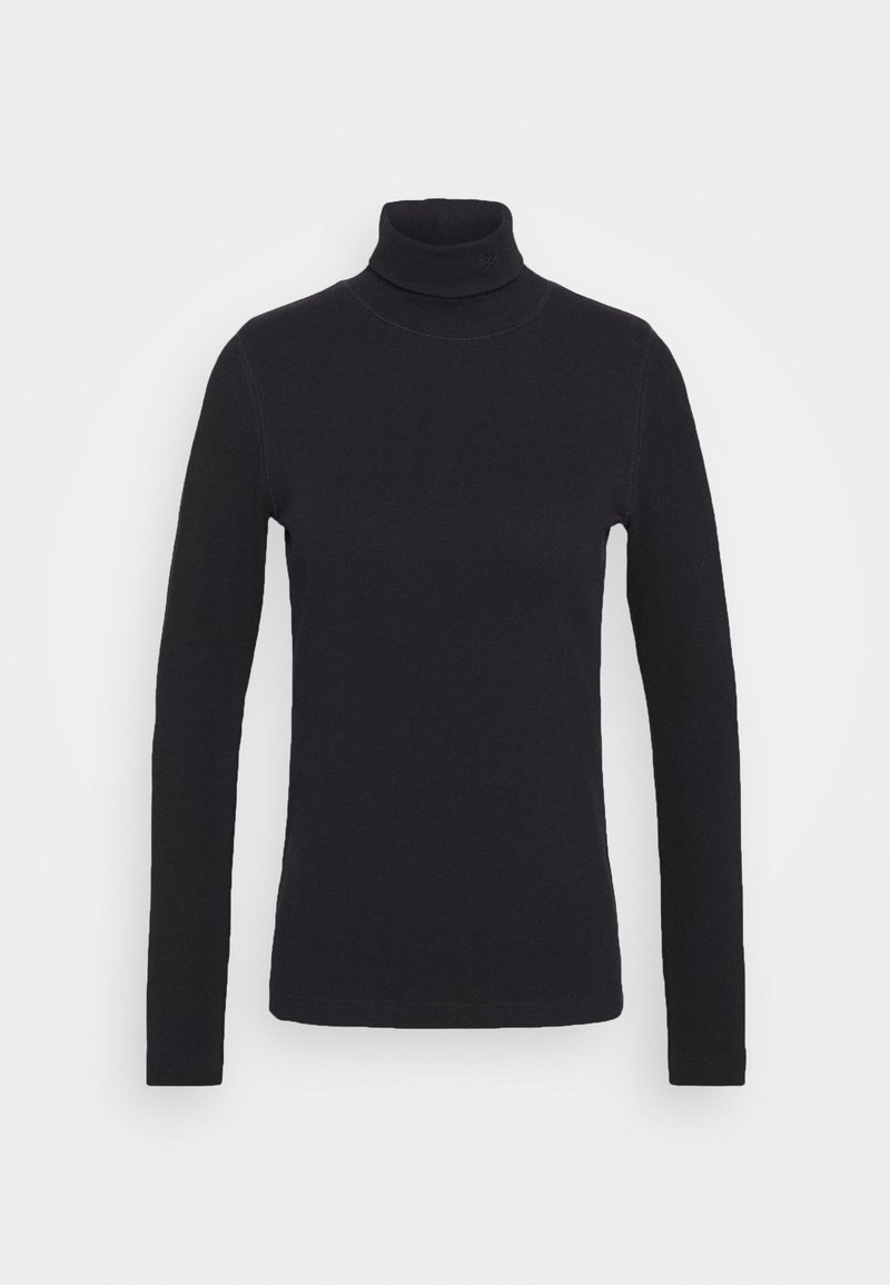 Daily Sports - MAGGIE ROLL NECK - Long sleeved top - navy