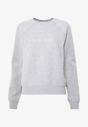BARLETTA CREW NECK - Sweatshirt - grey melange