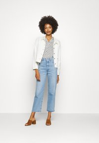 Marc O'Polo - SLEEVE - Long sleeved top - oyster white - 1