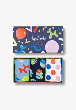 HAPPY BIRTHDAY SOCKS GIFT SET 3-PACK  - Calcetines - mehrfarbig