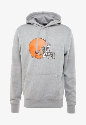 NFL CLEVELAND BROWNS LOGO HOODIE - Sweat à capuche - grey