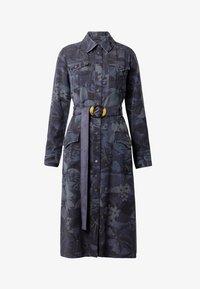 Desigual - VEST MONTSE - Sukienka jeansowa - blue - 5