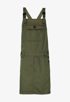 Denim dress - olive