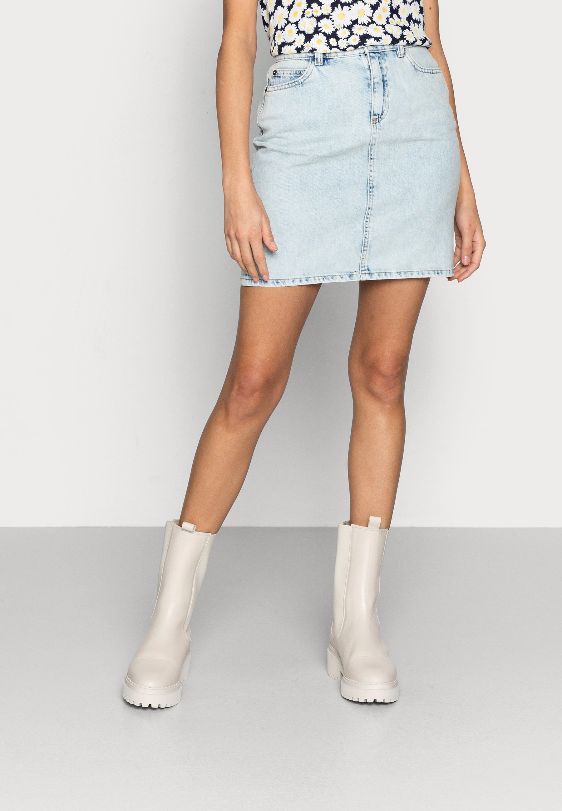 Women SKIRT DONNA - Mini skirt