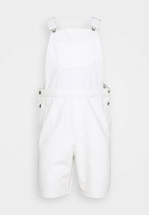 JJICHRIS JJDUNGAREE - Jeans Short / cowboy shorts - ecru