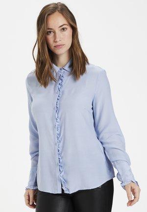 CUJEANELLE - Button-down blouse - cashmere blue