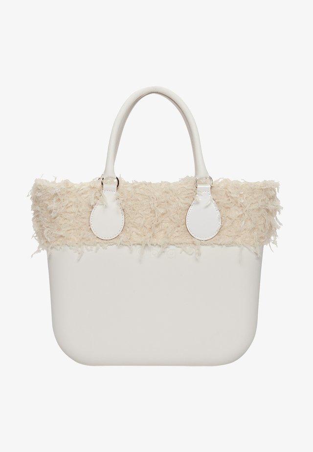 Tote bag - white/beige