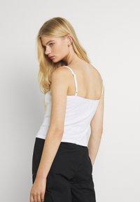 Nike Sportswear - TANK CAMI - Débardeur - white/black - 2