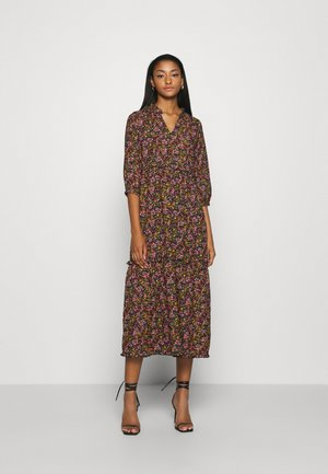 ONLCLARA LIFE MIDI DRESS - Robe d'été - black