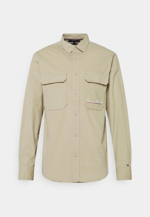 SCRIPT LOGO UNISEX - Summer jacket - desert tan