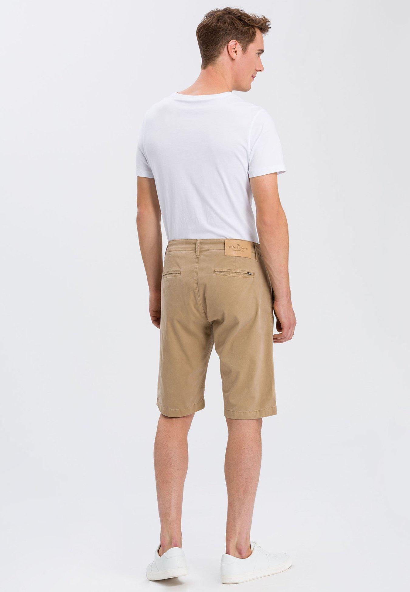 Cross Jeans LEOM - Denim shorts - beige