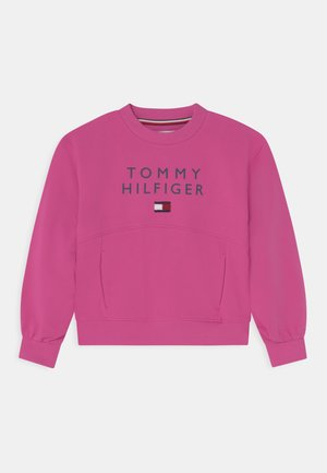 PLEATED SLEEVE - Sweater - vivid fuchsia