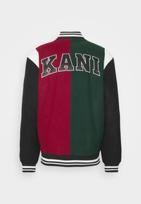 Karl Kani - BLEND COLLEGE JACKET - Bomber Jacket - darkred