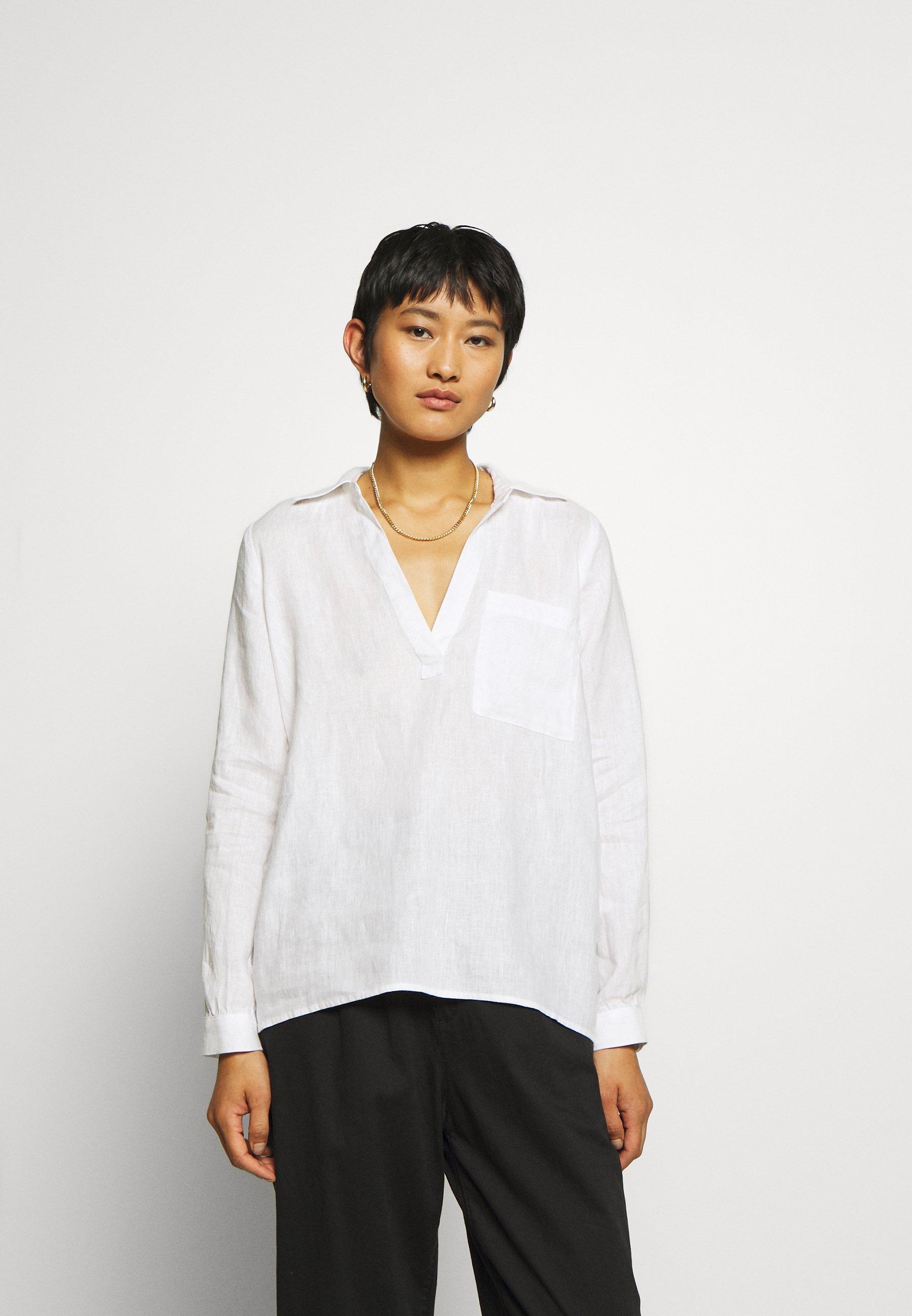 Fashion Style Women's Clothing Twist & Tango JADEN Blouse white pIgHD5UJW
